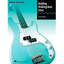 Hal Leonard Building Walking Bass Lines (Book/Online Audio)