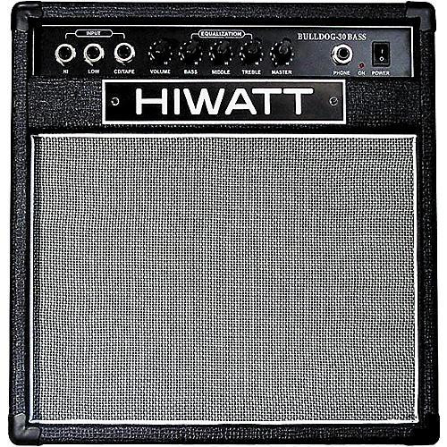 Hiwatt Bulldog 30 Watt Bass Amplifier-thumbnail