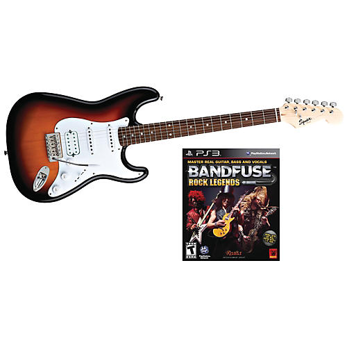 Squier Bullet HSS with BandFuse: Rock Legends-thumbnail