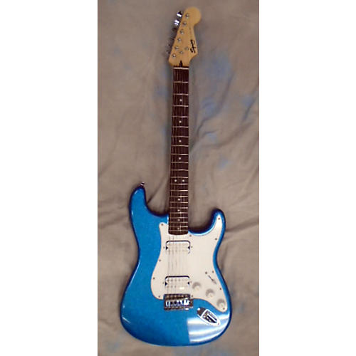 Squier Bullet Stratocaster HH Sparkle Blue Solid Body Electric Guitar