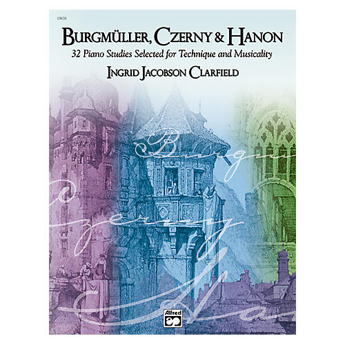 Alfred Burgm¼ller Czerny & Hanon Piano Studies Selected for Technique and Musicality Volume 1-thumbnail