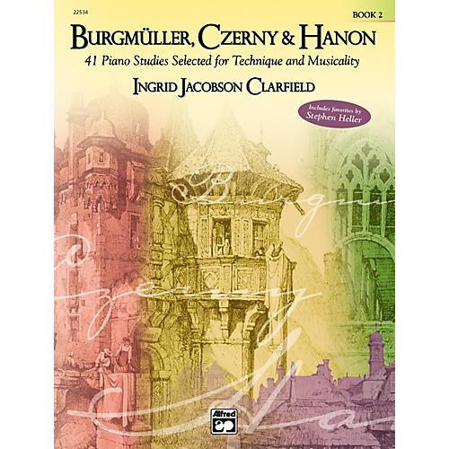 Alfred Burgm¼ller Czerny & Hanon Piano Studies Selected for Technique and Musicality Volume 2-thumbnail