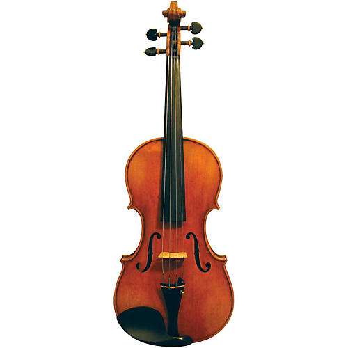 Maple Leaf Strings Burled Maple Craftsman Collection Violin 4/4 Size-thumbnail