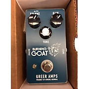 Greer Amplification Burning Goat Effect Pedal