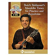 Homespun Butch Baldassari's Mandolin Tunes for Practice & Repertoire Book with CD