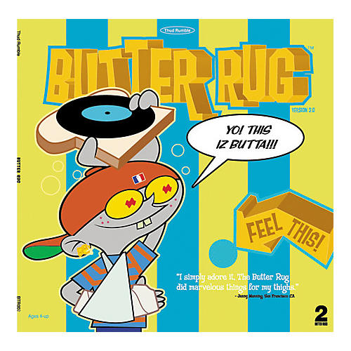 Thud Rumble Butter Rug Slipmat Pair-thumbnail