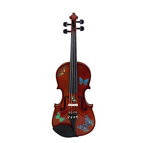 Rozanna's Violins Butterfly Dream Series Violin Outfit 1/2 Size