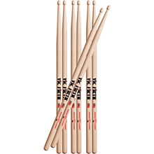 Vic Firth Buy 3 Pair 5A Sticks, Get 1 Pair Free