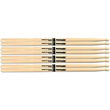 PROMARK Buy 3 Pairs of American Hickory Wood Tip 5A Sticks and Get One Free