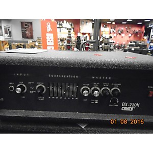 Pre-owned Crate Bx220H Bass Amp Head