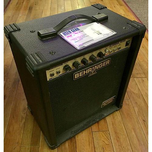 Behringer Bx300 Bass Combo Amp-thumbnail