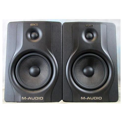 M-Audio Bx5 Carbon Black Pair Powered Monitor
