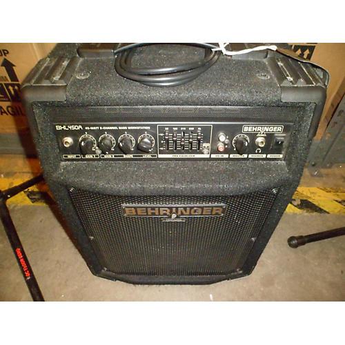 Behringer Bxl450a 45W 1x10 Bass Combo Amp-thumbnail