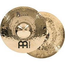 "Meinl Byzance Brilliant 14"" Heavy Hammered Hi-Hats"