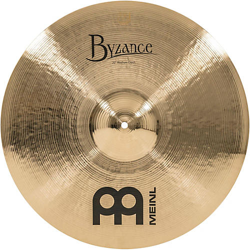 Meinl Byzance Brilliant Medium Crash Cymbal-thumbnail