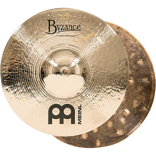 Meinl Byzance Brilliant Serpents Hi-Hat Cymbal Pair 13 in.