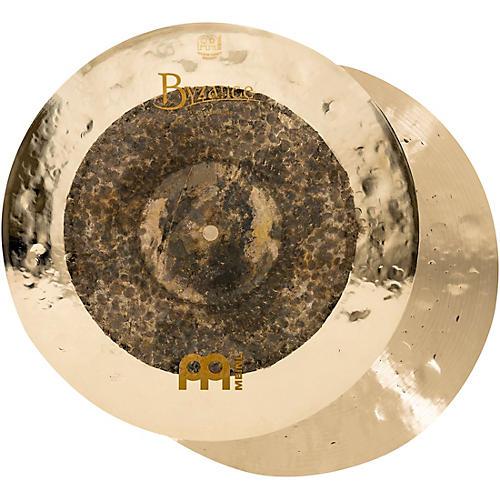 Meinl Byzance Extra Dry Dual Hi-Hat Cymbal Pair-thumbnail