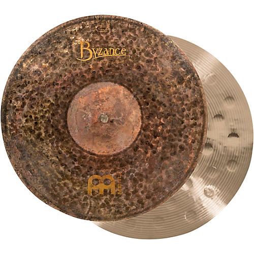 Meinl Byzance Extra-Dry Medium Hi-Hat Cymbals 14 in.