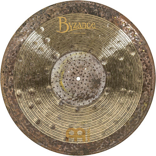 Meinl Byzance Jazz Ralph Peterson Signature Nuance Ride Cymbal with Rivets 21 in.