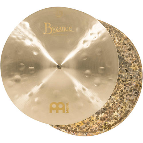 Meinl Byzance Jazz Thin Hi-Hat Traditional Cymbals-thumbnail