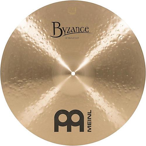 Meinl Byzance Medium Crash Traditional Cymbal 20 in.