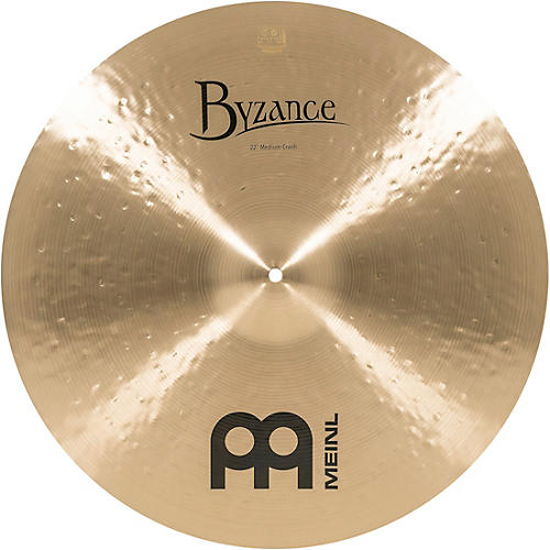 Meinl Byzance Medium Crash Traditional Cymbal-thumbnail