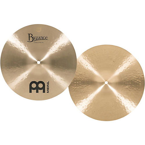 Meinl Byzance Medium Hi-Hat Cymbals 13 in.