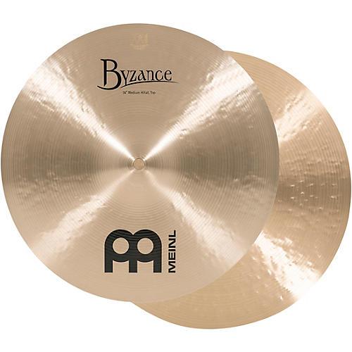 Meinl Byzance Medium Hi-Hat Cymbals 15 in.-thumbnail