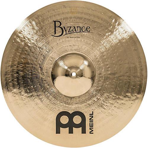 Meinl Byzance Medium Ride Brilliant Cymbal 20 in.