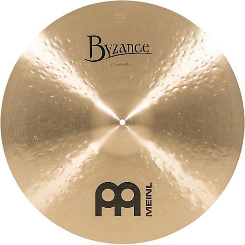 Meinl Byzance Medium Ride Traditional Cymbal 22 in.