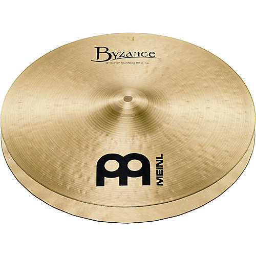 Meinl Byzance Medium Soundwave Hi-Hat Traditional Cymbals