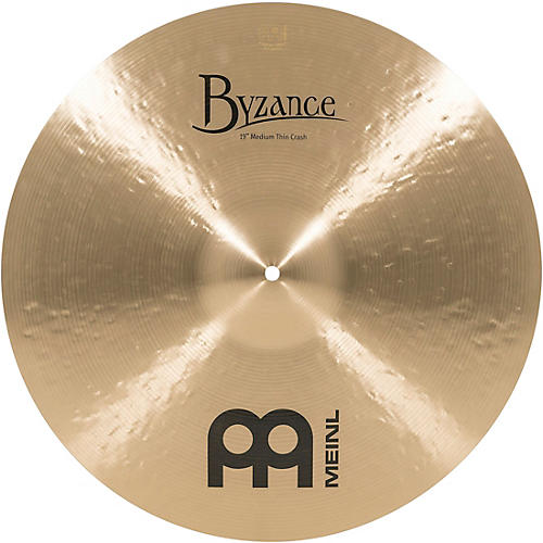 Meinl Byzance Medium Thin Crash Traditional 19 in.