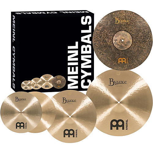 Meinl Byzance Standard Set with Free 18