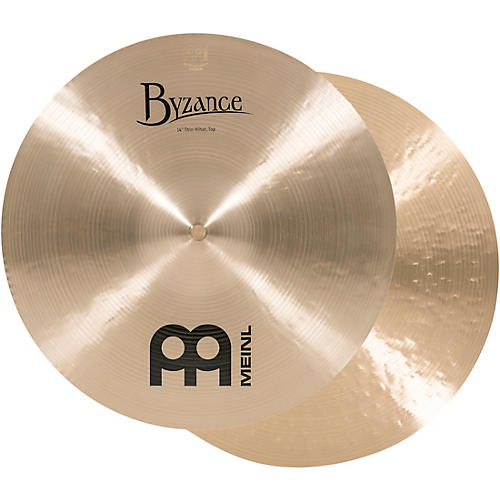 Meinl Byzance Thin Hi-hat Cymbals 14 in.