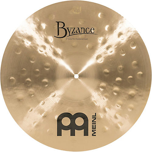 Meinl Byzance Traditional Extra Thin Hammered Crash Cymbal-thumbnail