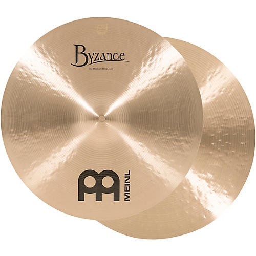 Meinl Byzance Traditional Medium Hi-Hat Cymbal Pair 16 in.