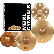 Meinl Byzance Vintage Series Benny Greb Sand Cymbal Set with Free 16 inch Trash Crash