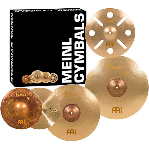 Meinl Byzance Vintage Series Benny Greb Sand Cymbal Set with Free 16 inch Trash Crash-thumbnail