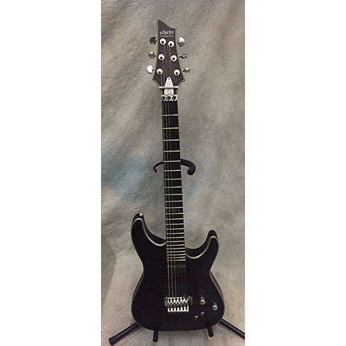 Schecter Guitar Research C-1 Floyd Rose Sustainiac Platinum Solid Body Electric Guitar