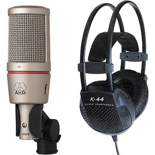AKG C 2000 B/K 44 Microphone/Headphone Pack