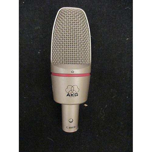 AKG C 3000B Chrome Silver Condenser Microphone