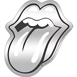 C&D Visionary Rolling Stones Sticker Chrome (S5255CH)