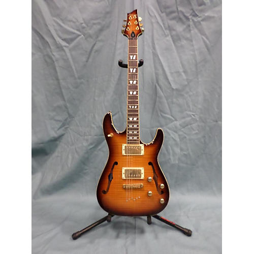 Schecter Guitar Research C/sH-1 Hollow Body Electric Guitar