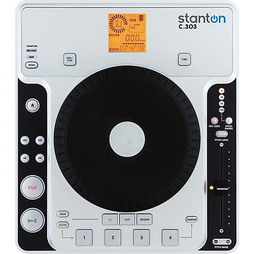 Stanton C.303 Tabletop CD Player with Sampling