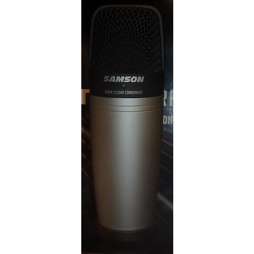 Samson C01 Silver Condenser Microphone-thumbnail