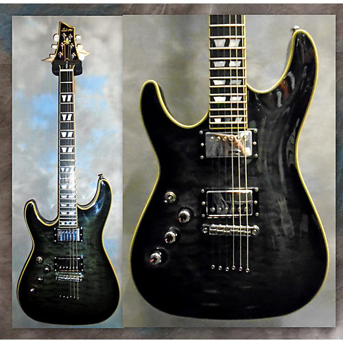 Schecter Guitar Research C1 Custom Left Handed Electric Guitar-thumbnail