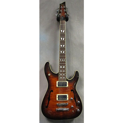 Schecter Guitar Research C1 E/A Hollow Body Electric Guitar