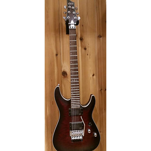 Schecter Guitar Research C1 Floyd Rose Platinum Solid Body Electric Guitar