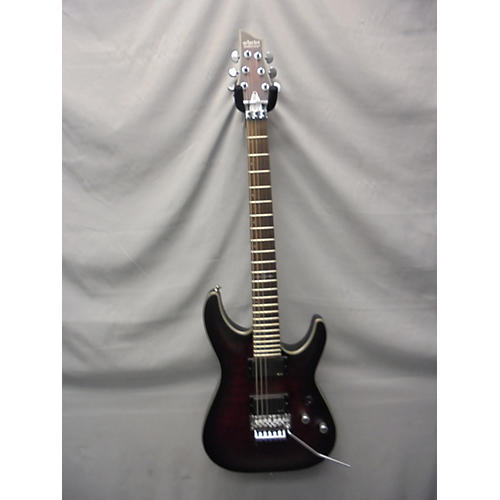 Schecter Guitar Research C1 Floyd Rose Platinum Solid Body Electric Guitar-thumbnail