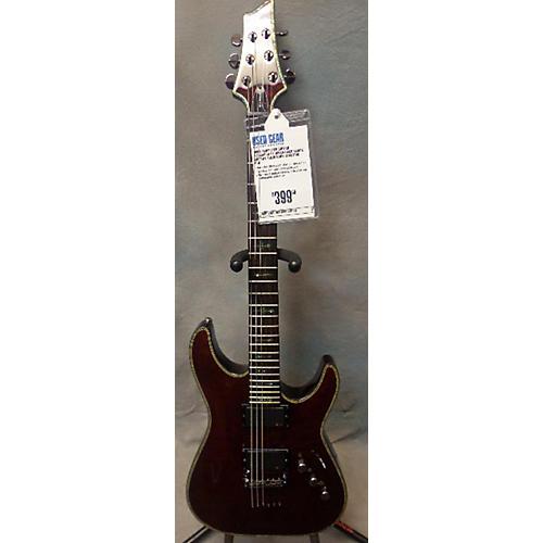 Schecter Guitar Research C1 Hellraiser Black Cherry Solid Body Electric Guitar